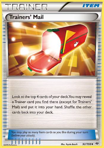 Trainers\' Mail (#92/108)