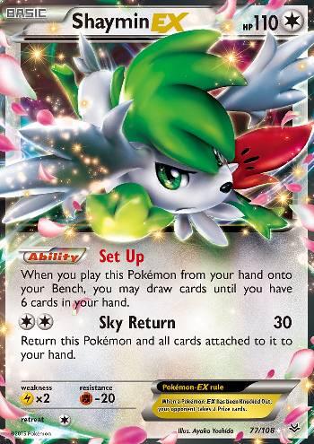 Shaymin-EX (#77/108)