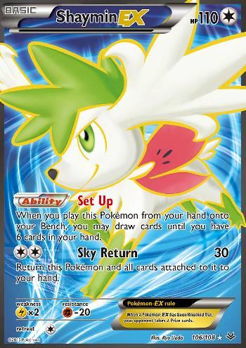 Shaymin-EX (#106/110)