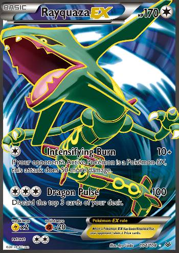 Rayquaza-EX (#104/108)