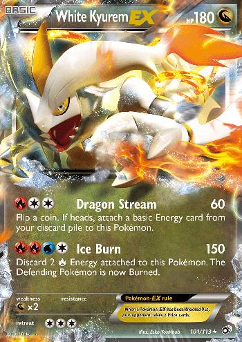 White Kyurem-EX (#101/113)