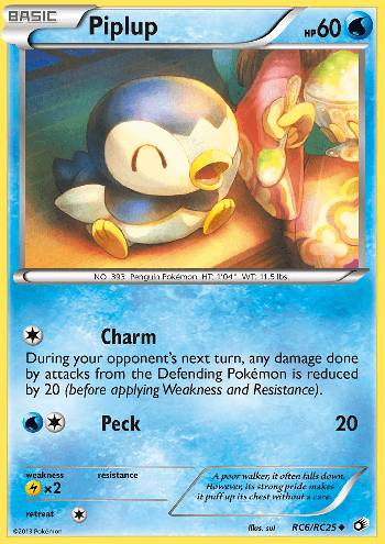 Piplup (#RC6/113)