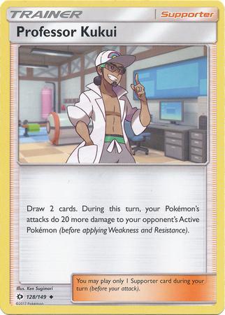 Professor Kukui (#128/149)