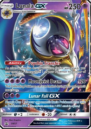 Lunala-GX (#SM17/∞)