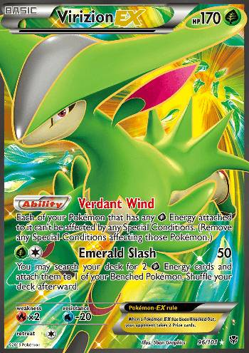 Virizion-EX (#96/105)