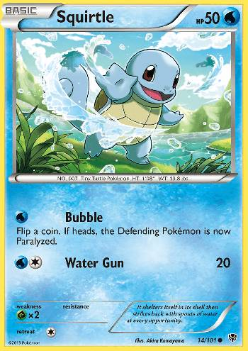 Squirtle (#14/105)