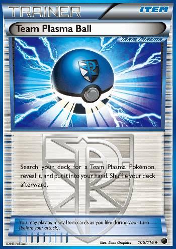 Team Plasma Ball (#105/122)