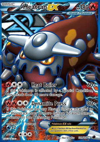 Heatran-EX (#109/122)