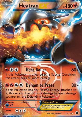 Heatran-EX (#13/122)