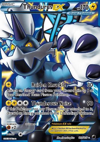 Thundurus-EX (#110/116)