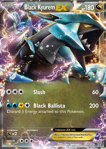Black Kyurem-EX (#95/135)
