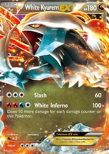 White Kyurem-EX (#96/138)