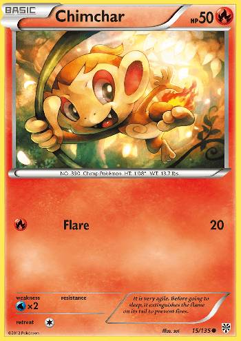 Chimchar (#15/135)
