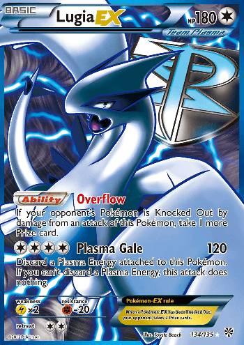 Lugia-EX (#134/138)