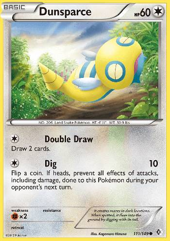 Dunsparce (#111/149)