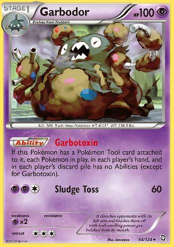 Garbodor (#54/124)