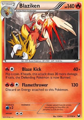Blaziken (#17/108)