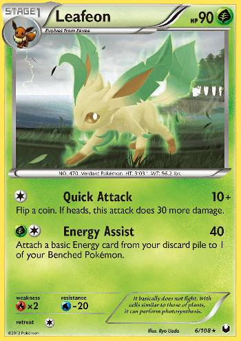 Leafeon (#6/108)