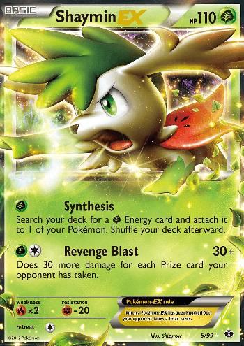 Shaymin-EX (#5/99)