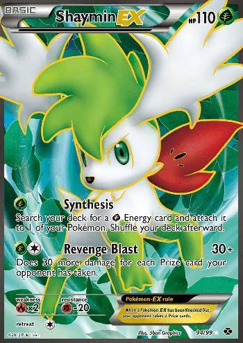 Shaymin-EX (#94/103)