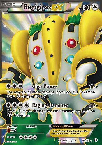 Regigigas-EX (#99/103)