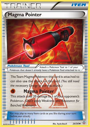 Magma Pointer (#24/34)