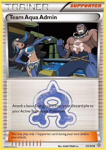 Team Aqua Admin (#25/34)