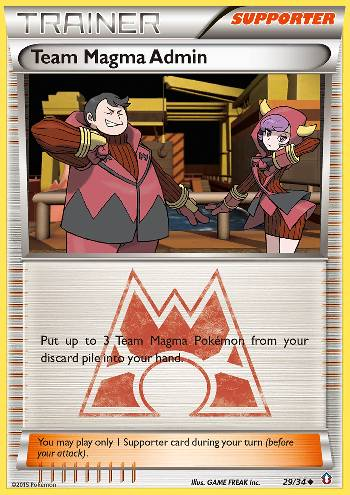 Team Magma Admin (#29/34)