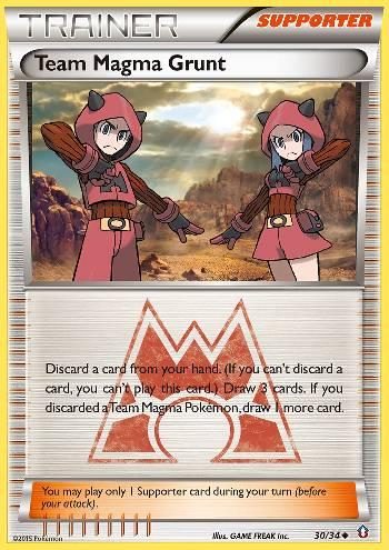 Team Magma Grunt (#30/34)