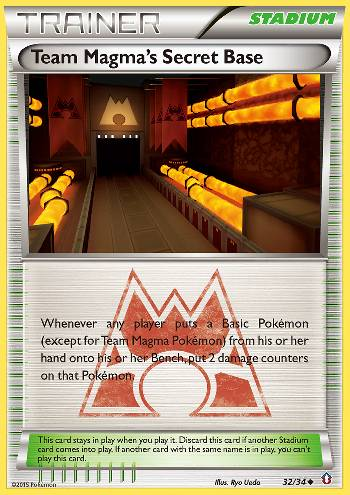 Team Magma's Secret Base (#32/34)