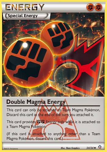 Double Magma Energy (#34/34)