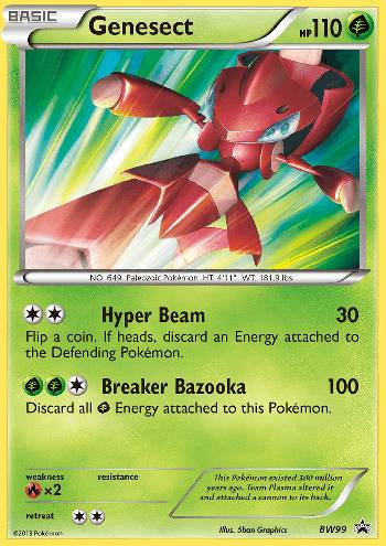 Genesect (#BW99/99)