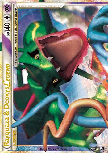 Rayquaza & Deoxys LEGEND (#89/91)