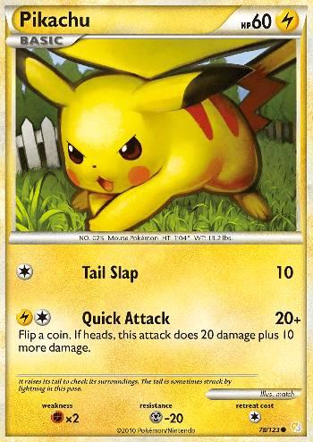 Pikachu (#78/124)
