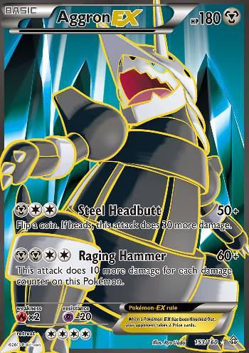 Aggron-EX (#153/160)