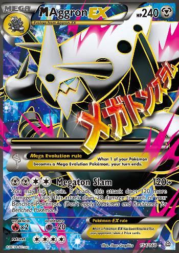 M Aggron-EX (#154/164)