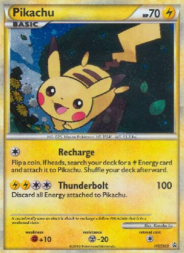Pikachu (#HGSS03/25)