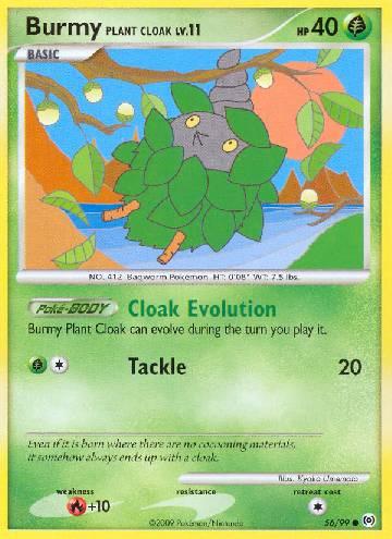 Burmy Plant Cloak (#56/111)