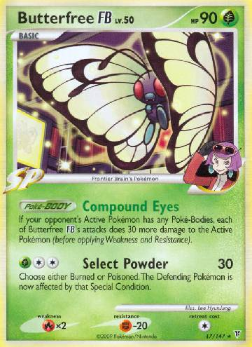 Butterfree FB (#17/153)