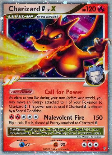Charizard G LV.X (#143/153)