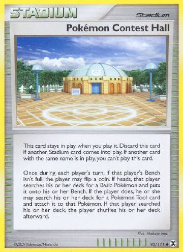 Pokémon Contest Hall (#93/120)