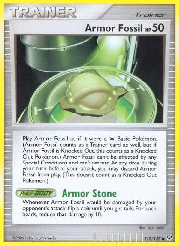 Armor Fossil (#119/133)