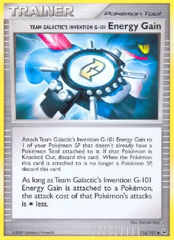 Energy Gain (#116/133)