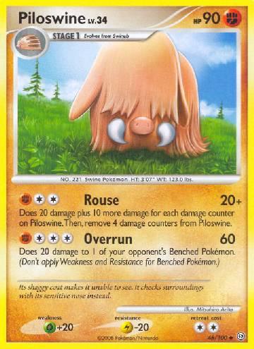Piloswine (#46/106)