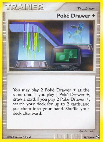 Poké Drawer + (#89/106)