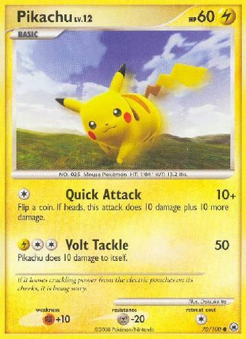 Pikachu (#70/100)