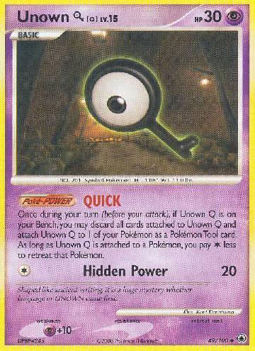Unown Q (#49/100)