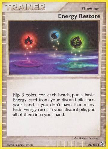 Energy Restore (#81/100)