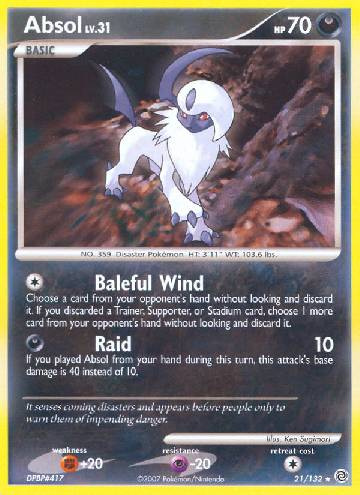 Absol (#21/132)