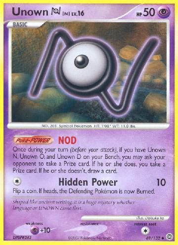 Unown N (#69/132)